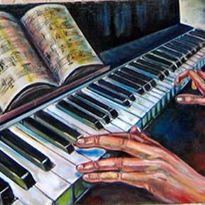 Играем аккорды на пианино, Музыкальный класс