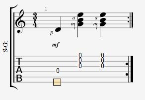 как играть вальсовый аккомпанемент на гитаре