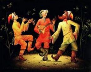 Скоморохи: история возникновения явления скоморошества и его музыкальные особенности, Музыкальный класс