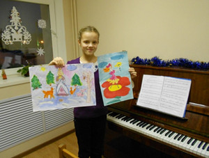 занятия по фортепиано с детьми