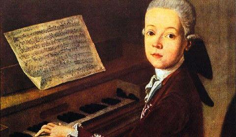 Детство Моцарта