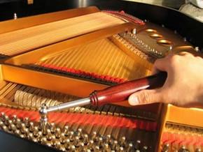 как настроить фортепиано