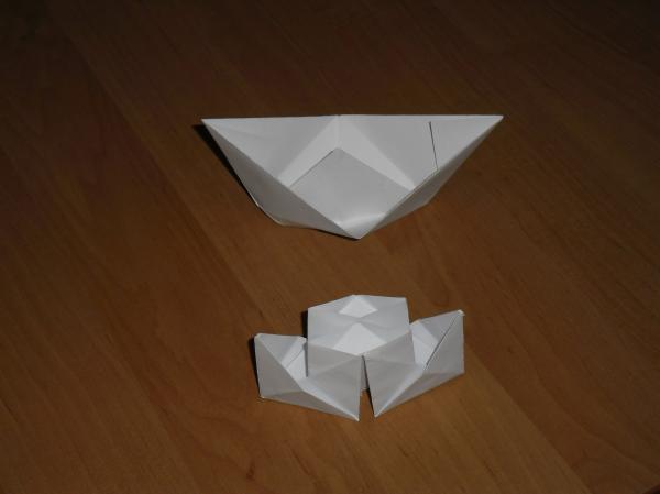как сделать кораблик или лодочку