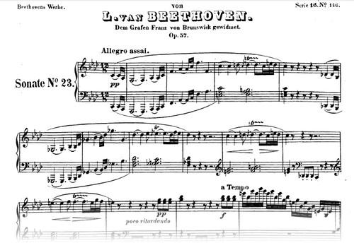 особенности фортепианных сонат Бетховена