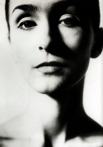 Пина Бауш на фото - молодая